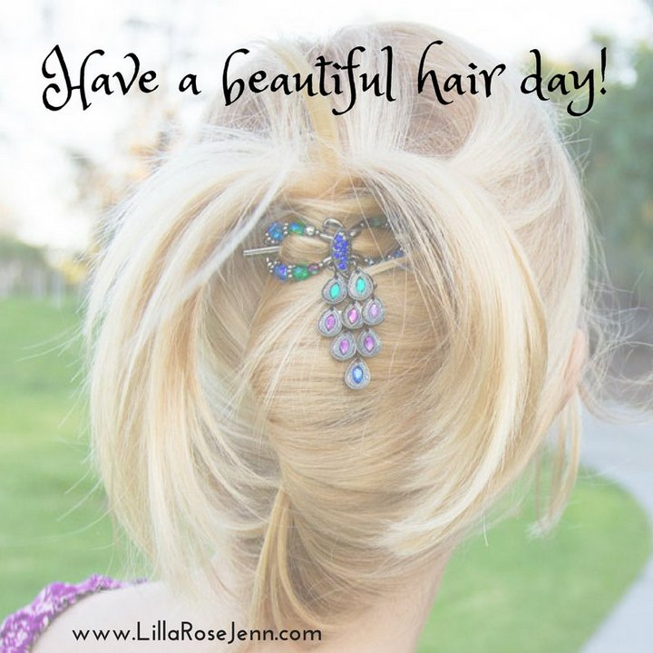 have a beautiful hair day!