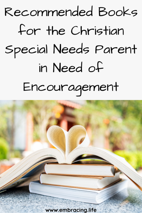 Books for Christian special needs parents