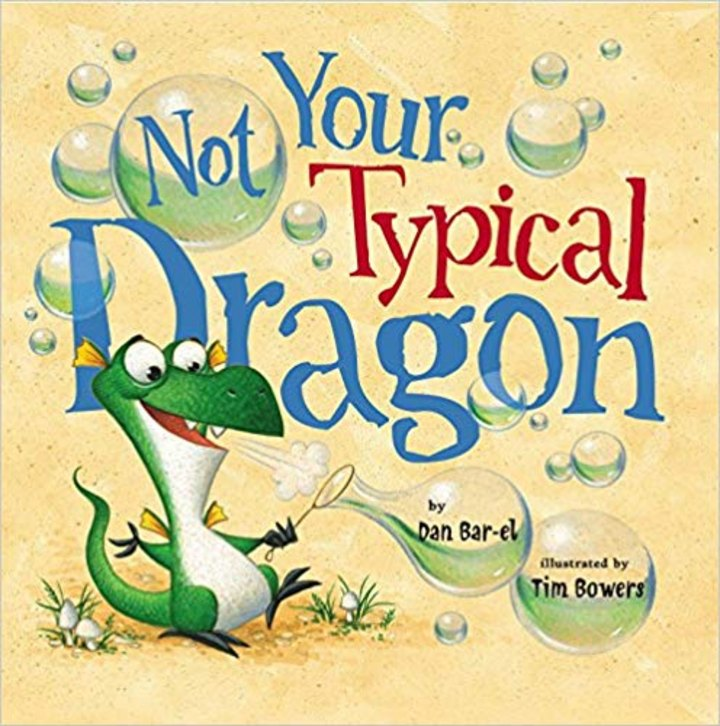 Not Your Typical Dragon--a great book for children who feel a little bit different