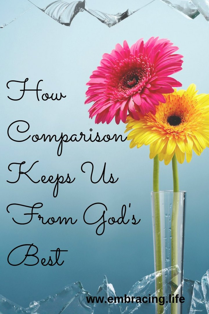 How Comparison Keeps Us From God's Best