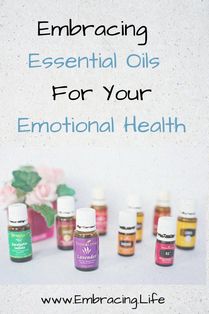 Embracing Essential Oils for Emotional Health