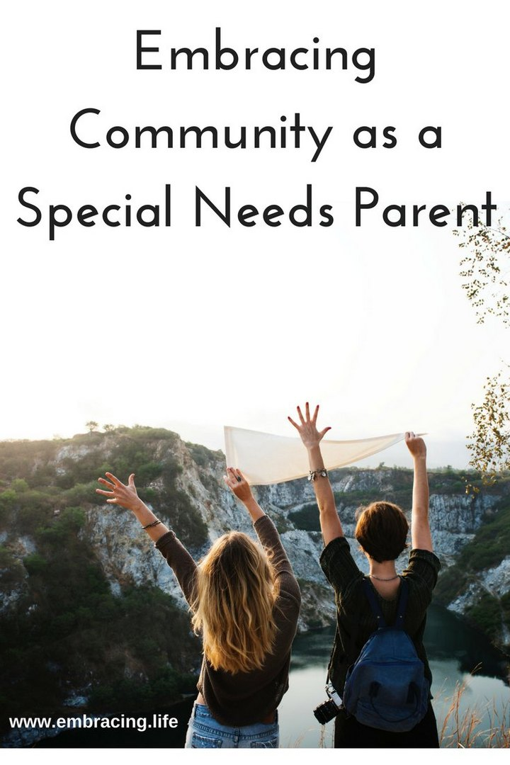 Embracing Community as a Special Needs Parent
