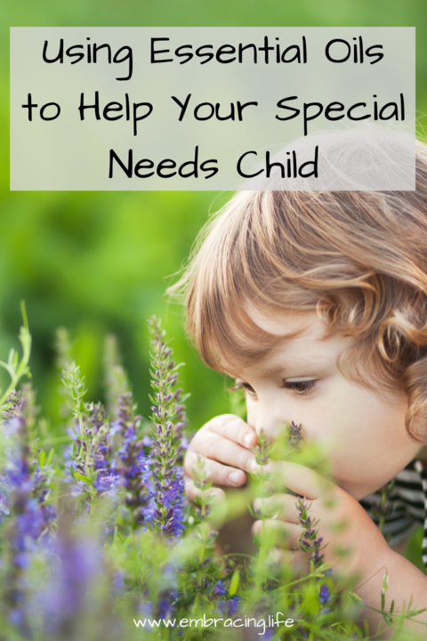 Using Essential Oils to Help Your Special Needs Child
