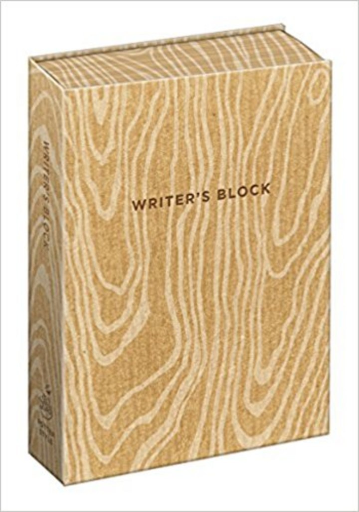 Writer's Block journal - unblock your writer's block by writing in this punny journal #writergift #write #writersblock