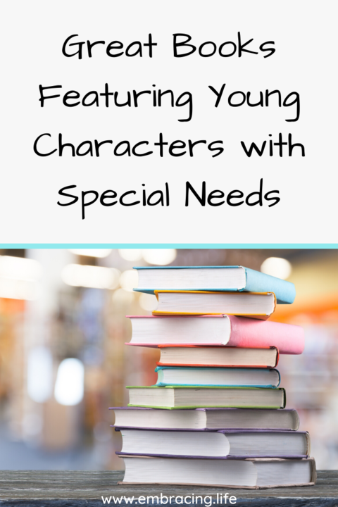books featuring young characters with different abilities | books about characters with special needs