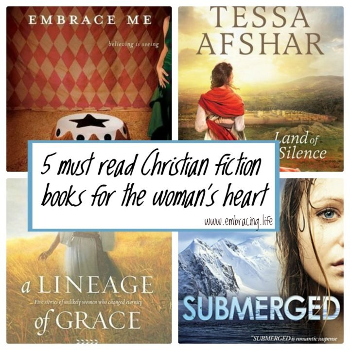 Christian fiction books to encourage the woman's heart