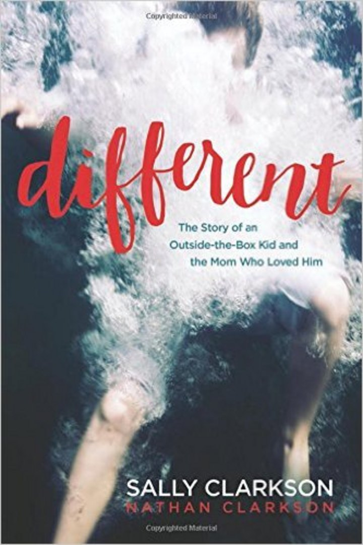 Different-a book for encouraging mothers who have children with special needs