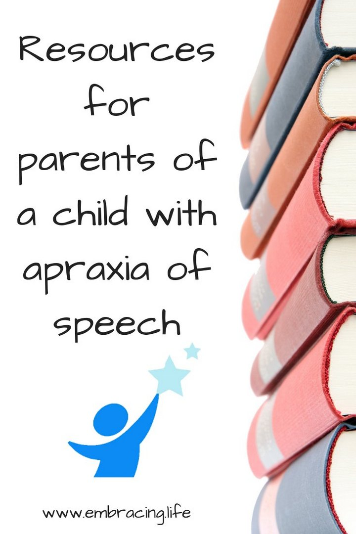 Resources For Parents of a Child with Apraxia