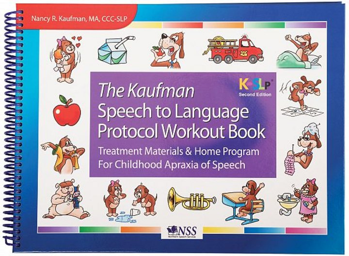 Kaufman workout book for working with children with apraxia