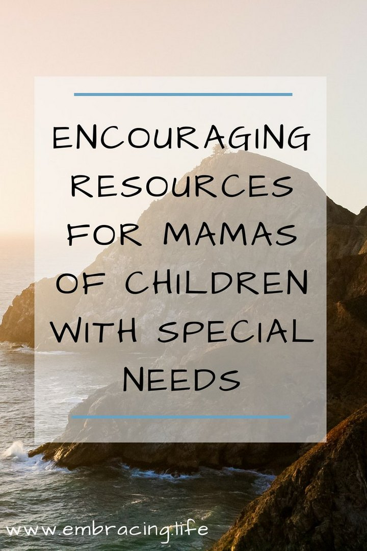 Resources for Christian Special Needs Mothers