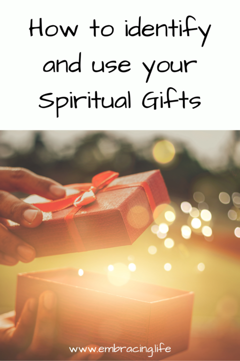Identifying and Using Your Spiritual Gifts