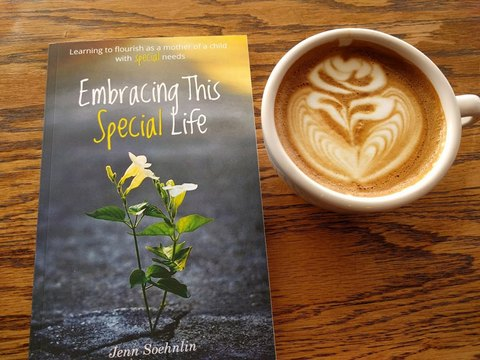 Embracing This Special Life book for Christian special needs mothers